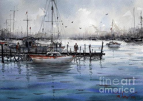 Port Philip Bay by Tim Oliver