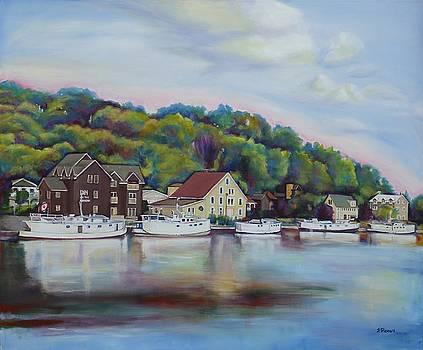 Port Stanley View by Sheila Diemert