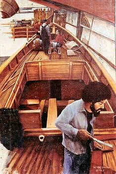 Port Townsend Boatworks by Leif Thor Kvammen