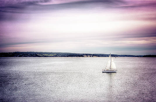 Port Townsend Sailboat by Spencer McDonald