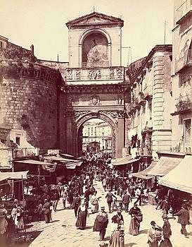 Porta Capuana, Napoli, Italy c. 1880 - 1895 by Vintage Printery