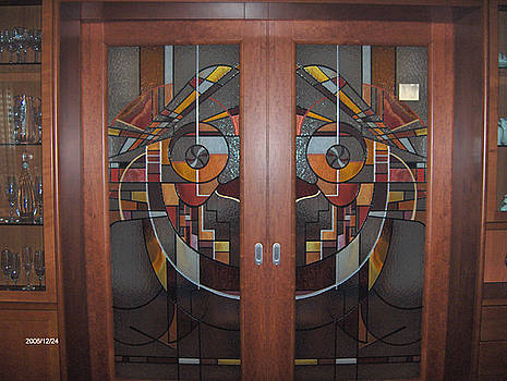 Porta di acesso al salotto by Morena Di Pressa