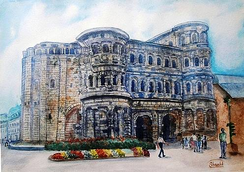 Porta Nigra by Shashikanta Parida