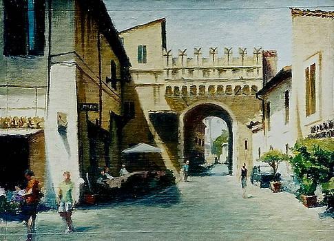 Porta Settimiana by Lydia Martin
