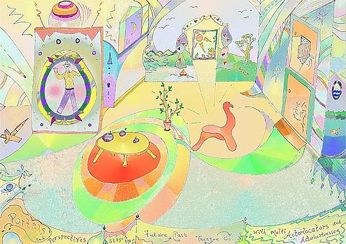 Portals and Perspectives by Julia Woodman