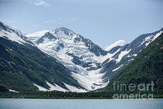 Porter Lake Alaska  by Chuck Kuhn