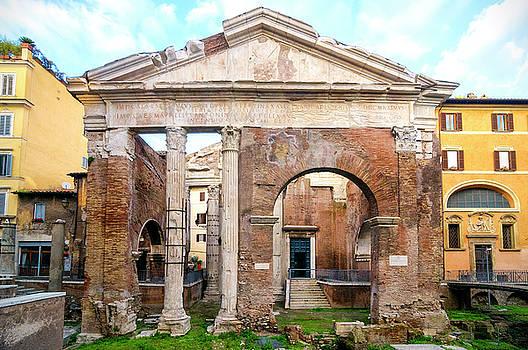 Portico di Ottavia by Fabrizio Troiani