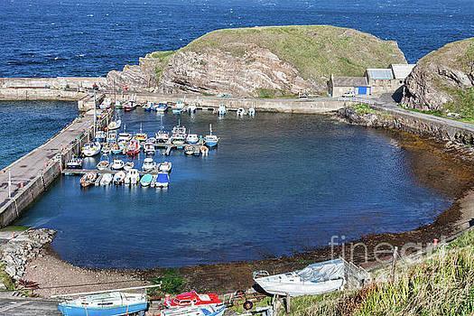 Portknockie Harbour  by Diane Macdonald