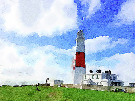 Portland Bill Lighthouse by Anita Van Den Broek
