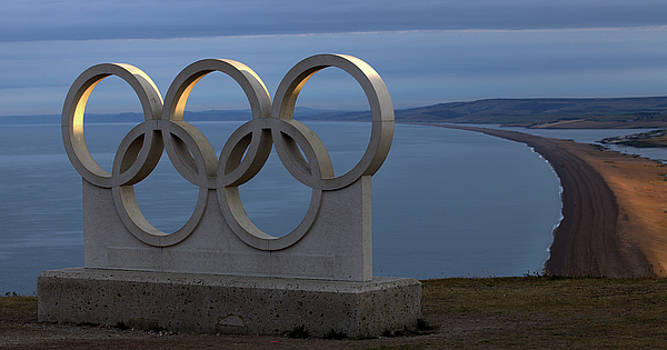Portland, Dorset - Olympic Rings by Mike Finding