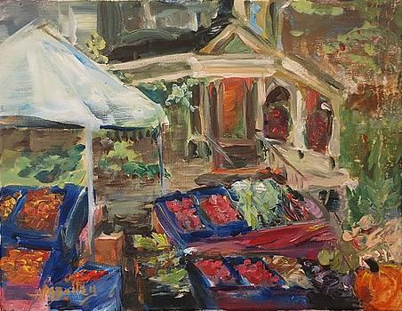 Portland Farmers Market by Ann Bailey