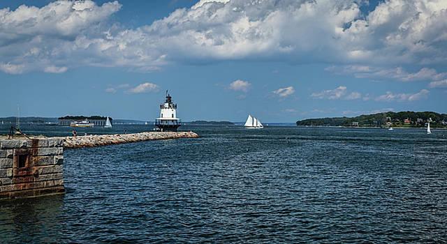 Portland Harbor, Maine by Gary Shepard