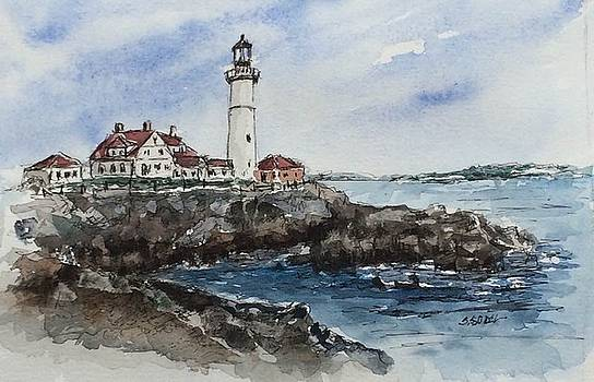 Portland Head Light by Stephanie Sodel