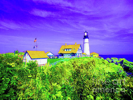 Portland Head Lighthouse by Ann Johndro-Collins