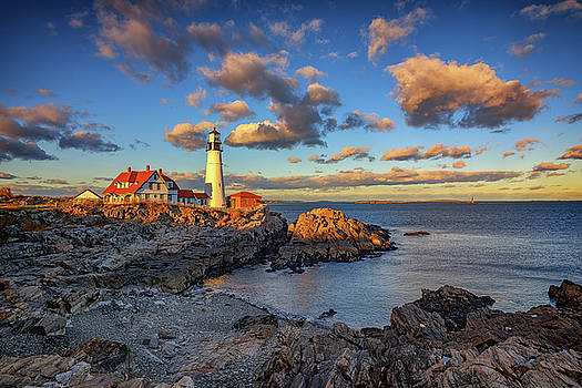 Portland Head Lighthouse at Sunset by Rick Berk