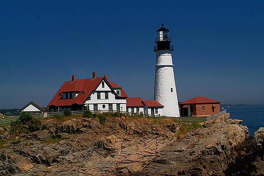 Portland Head Lighthouse by Brad Hoyt