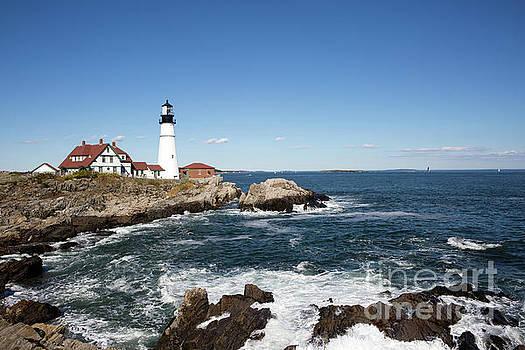 Portland Head Lighthouse Maine by Steven Frame