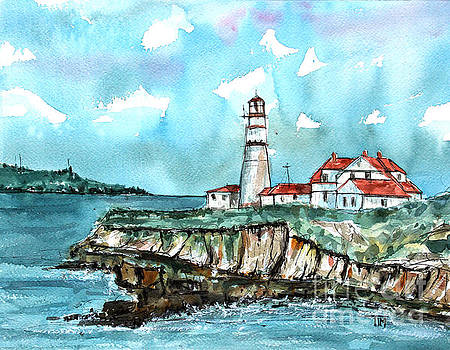 Portland Head Lighthouse by Tim Ross