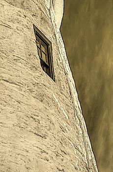 Portland Head Lighthouse window detail by David Smith