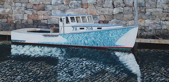 Portland Lobster Boat by Steven Fleit