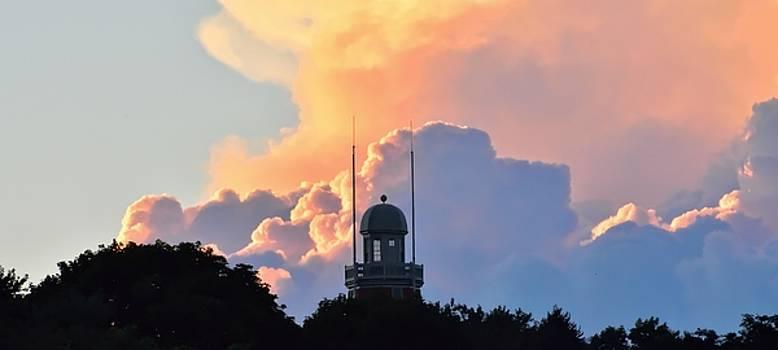 Robert Hayes - Portland Observatory At Sunset 02