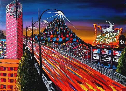 Portland Oregon Sign #60 by Portland Art Creations