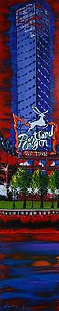 Portland Oregon Sign #64 by Portland Art Creations