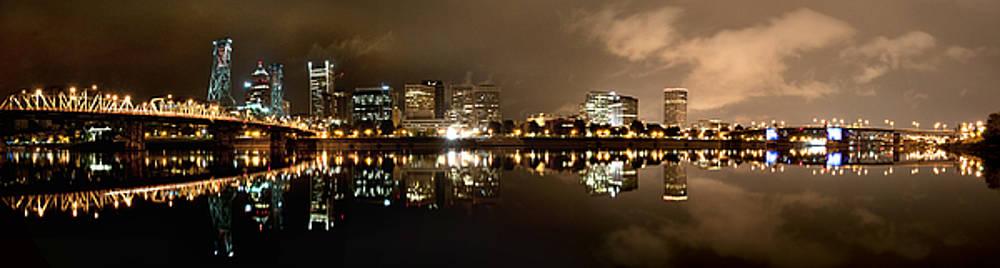 Portland Panorama by Brian Bonham