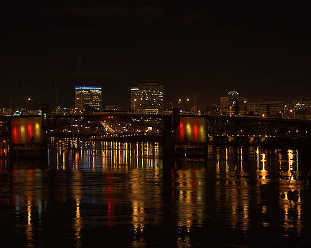 Portland reflections by Scott Gould