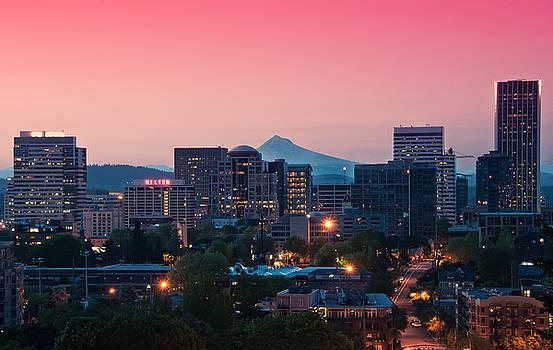Portland Sunrise by Brian Bonham