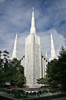 Portland Temple by Misty Alger