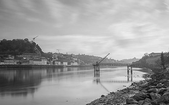 Porto landscape with a sky by Bruno Rosa