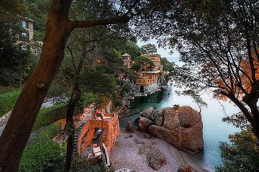 Enrico Pelos - PORTOFINO BAY BEACH - Spieggetta nella Baia di Portofino