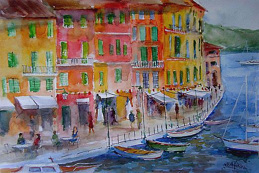 Portofino... by Faruk Koksal