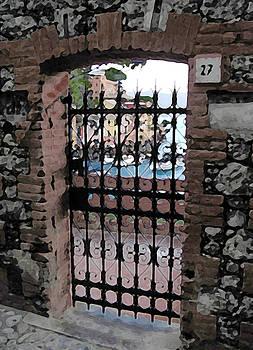 Portofino Gate by Paul Barlo