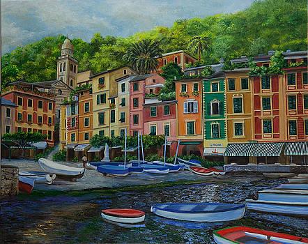 Charlotte Blanchard - Portofino Harbor
