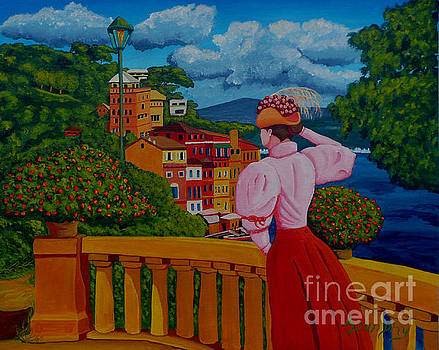 Portofino Lady by Anthony Dunphy