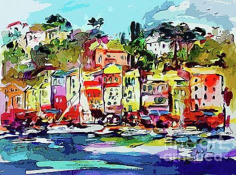 Ginette Callaway - Portofino Modern Art Italy
