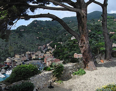 Portofino Patio by Paul Barlo