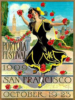 Peter Gumaer Ogden - Portola Festival San Francisco 1909 Randal Borough