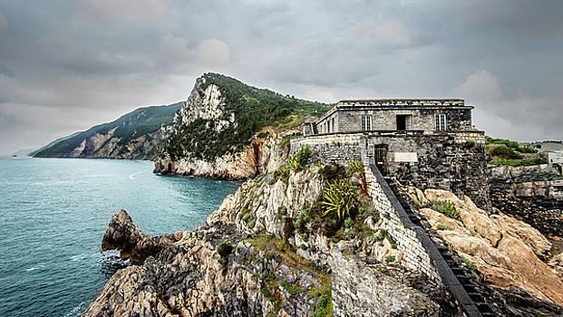 Portovenere in Liguria by Alida Thorpe
