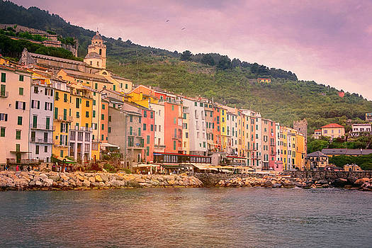 Portovenere Italy by Joan Carroll