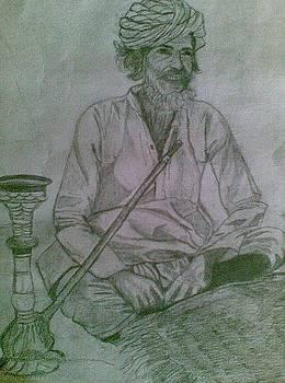 Portrait-1 by Emrazina Prithwa
