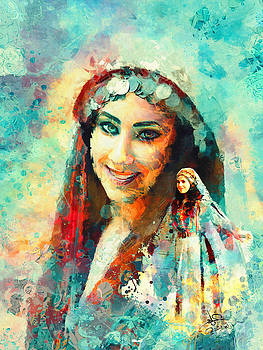 Portrait 1 by Imad Abu shtayyah