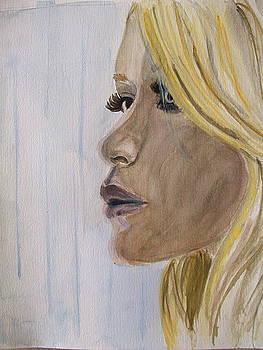 Portrait 1 by Maria Mills