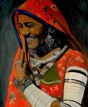 Portrait-2 by Emrazina Prithwa