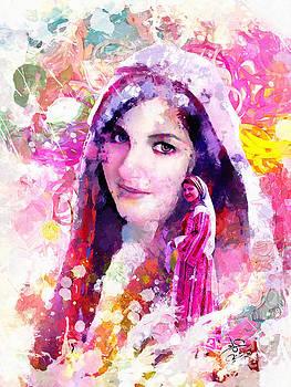 Portrait 2 by Imad Abu shtayyah