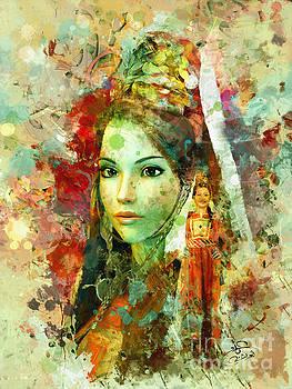 Portrait 4 by Imad Abu shtayyah