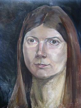 Portrait 4 by Maria Degtyareva