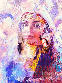 Portrait 5 by Imad Abu shtayyah